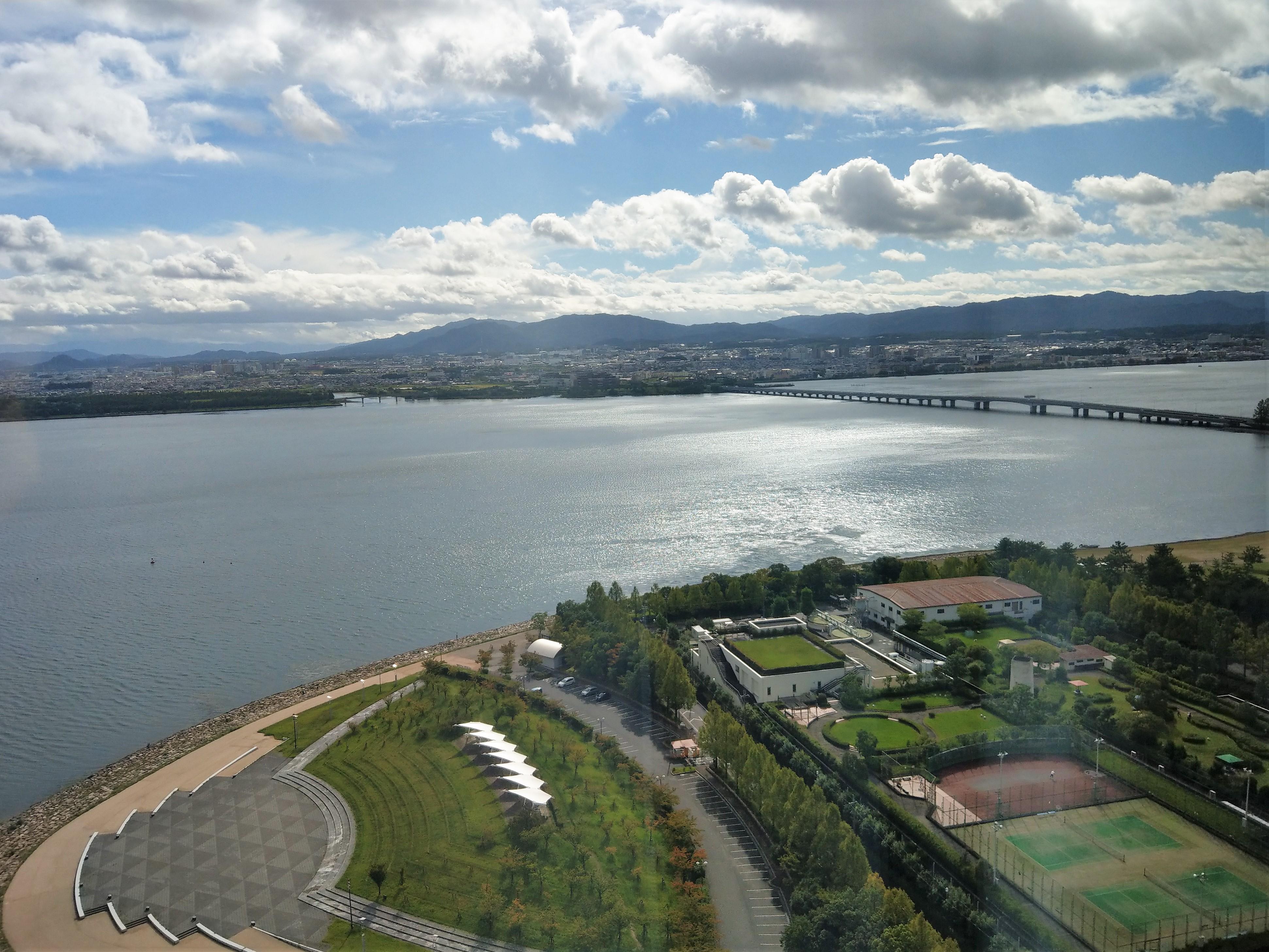一周 距離 琵琶湖
